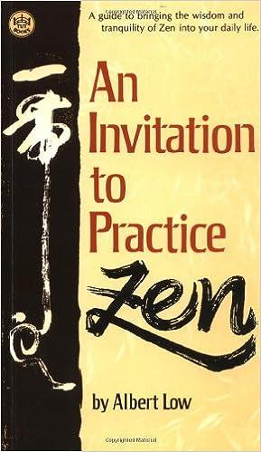 An invitation to practice zen albert low 9780804815987 amazon an invitation to practice zen albert low 9780804815987 amazon books stopboris Gallery