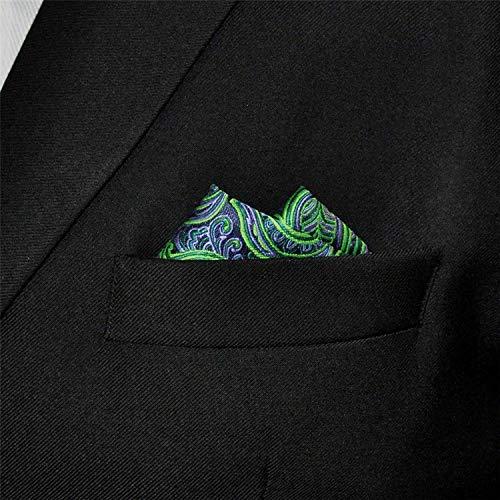 ca50f0d0097c Shlax & Wing Men's Neckties Ties Paisley Green Purple Accessories For ...