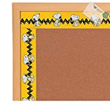Paper Snoopy Bulletin Board Border (With Sticky Notes)