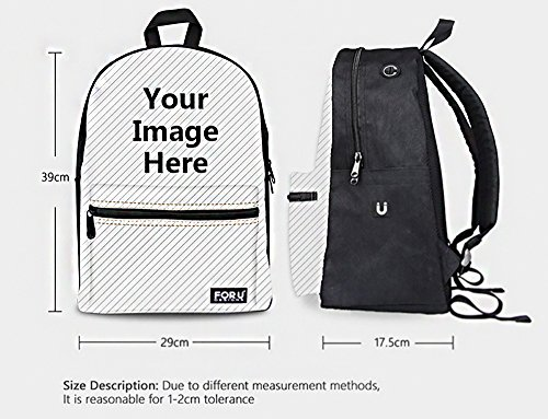 Travelling School Trip Black Stripe Print ThiKin for Daypacks Teenagers Bag Hiking Backpack Weekend College Casual Girls Women Casual Backpacks Bookbags kaleidoscope9 Laptop Stylish Canvas Men Boys ApxxTg