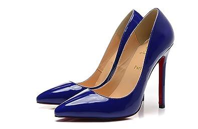 online store 31b94 1f59f Christian`Louboutin Womens Pointed Toe 12cm High Heel Slip ...