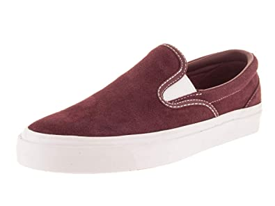 7efebac836dc46 Converse Unisex One Star CC Slip Dark Burgundy White Slip-On Shoe 8 Men