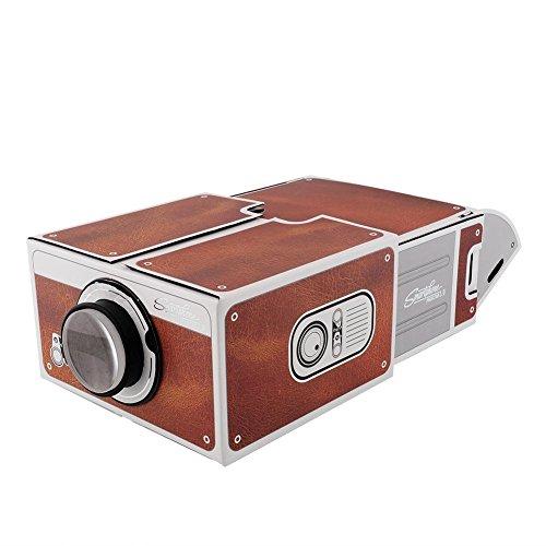 DIY Smartphone Projector Cardboard Smartphone Projector 2.0 Portable Home Cinema - Wall Projector For Phone