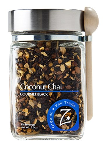 Zhena's Gypsy Tea Black Tea, Coconut Chai, 3.0 Ounce