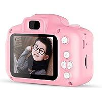 FOONEE Kids Digital Camera, Mini 2 Inch Screen Children's Camera 8MP HD Digital Camera Great Gift For 4-8 Year Old Girls Or Boys (Pink)