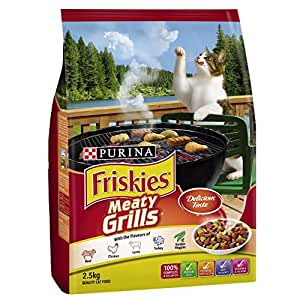 Friskies Adult Meaty Grills, 2.5kg