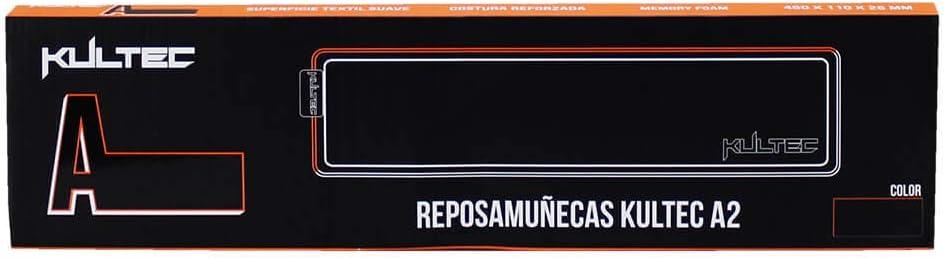 Reposa Muñecas Kultec A2, 450x110x25mm