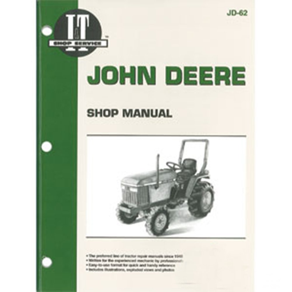 Amazon.com: JD62 New Shop Manual For John Deere Compact Tractor 1070 655  770 870 970: Industrial & Scientific