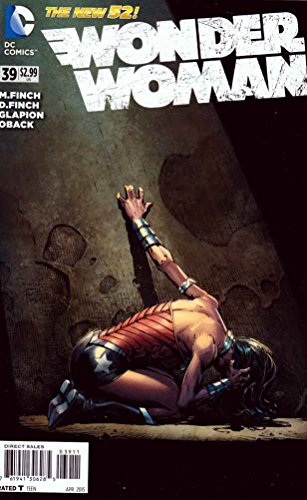 David Finch Cover - Wonder Woman #39 (2015)