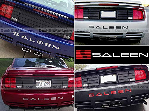 - SF Sales USA Chrome Rear Bumper Letter Inserts for Mustang Saleen 2005-2009 Not Decals