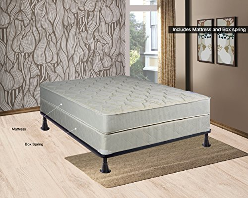 Continental Sleep Hollywood Collection Orthopedic Fully Assembled Mattress  and Box Spring Set - Ample Support for Your Back - Premium 357 Coil  Innerspring - ... - Queen Size Mattress Sets: Amazon.com