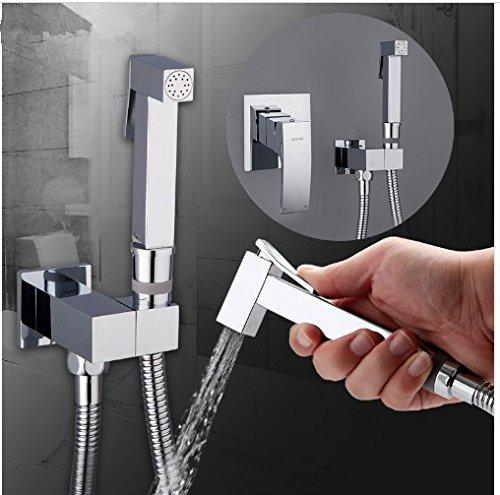 Gowe shower faucet wall mount bidet faucet Rainfall shower mixer tap muslim toilet sprayer bath shower set shower system 1