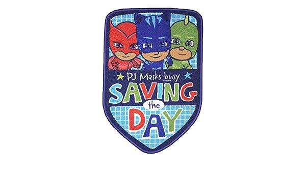 PJ Masks Save The Day - Alfombra (Poliamida, 80 x 53 x 1 cm): Amazon.es: Hogar