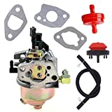 Atoparts Carburetor with Primer Bulb Fuel Filter for Troy Bilt MTD Cadet Snow Blower 951-14026A 951-14027A 951-10638A