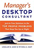 Manager's Desktop Consultant, Louellen N. Essex and Mitchell E. Kusy, 0891062335