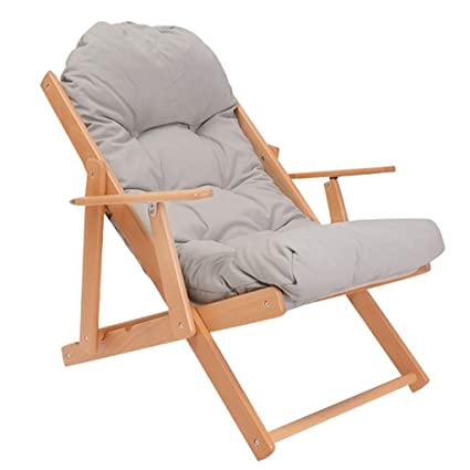 Amazon.com: SjYsXm-reclinadores silla plegable de madera ...