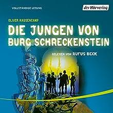 Die Jungen von Burg Schreckenstein (Burg Schreckenstein 1) Hörbuch von Oliver Hassencamp Gesprochen von: Rufus Beck