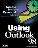 img - for Using Microsoft Outlook 98 by Gordon Padwick (1998-04-20) book / textbook / text book