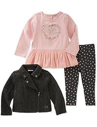 Baby Girls' 3 Pc Jacket Sets