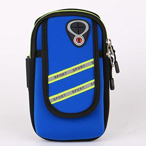 Sac de téléphone portable Sports Running Armband Sac de poche Ensemble d'armure Sacs de taille Sacs de téléphone Sac de sport Sac de sport