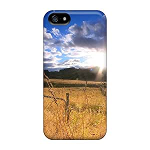 New Premium TinnySunshine Beautiful Field Of Gold In The Sun Skin Case Cover Excellent Fitted For Iphone 5/5s