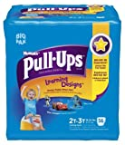 Health & Personal Care : Huggies Pull-Ups Training Pants Learning Designs, 2T - 3T, Boy, 56 Count (Pack of 2)