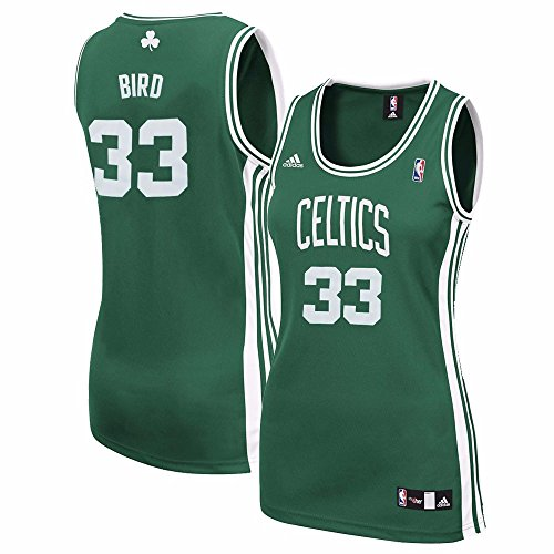 Larry Bird Boston Celtics NBA Adidas Women s Green Replica Jersey (2XL) 3ce20c151