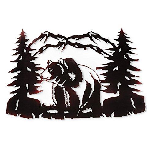 Bear Metal Art (Bear Metal Wall Art)