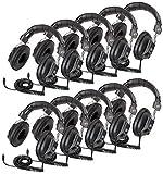 Califone International CII3068AV10L Switchable Headphones Classpk