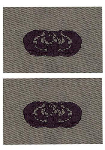 USAF CYBERSPACE SUPPORT ABU BADGE (BASIC, 2 PACK)