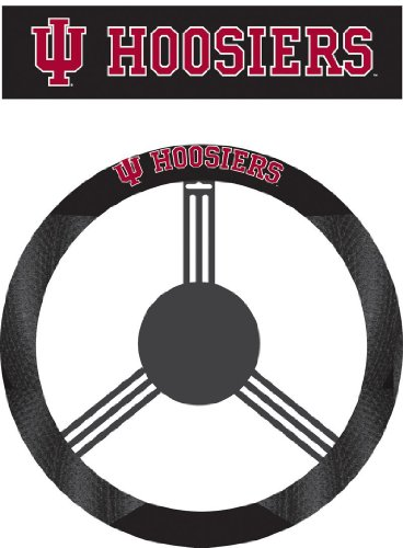 NCAA Indiana Hoosiers Poly-Suede Steering Wheel - Outlet Indiana Mall