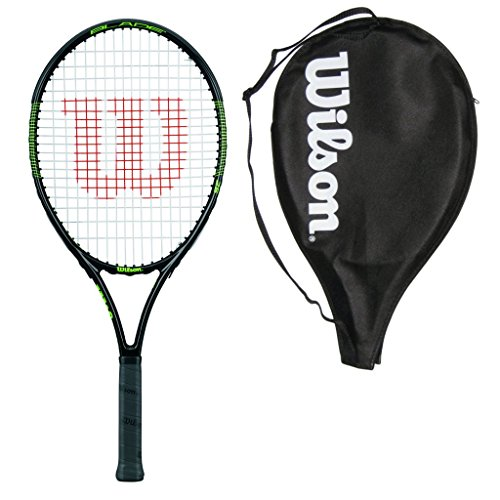 Wilson Burn Team 25 Junior Racquet - Strung with Cover