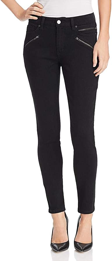 Kenneth Cole New York Women/'s Jess Skinny Mid-Rise Ankle Jeans