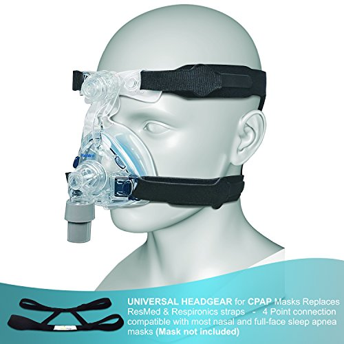CPAP-Headgear-Replacement-Straps-Ultra-Comfortable-Compatible-with-most-Nasal-Full-Face-Sleep-Apnea-Masks-Tight-Seal-4-Point-Connection-System-Mask-Clips-NOT-Included-See-List