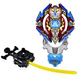 Beyblade Burst Evolution B-92 Starter Sieg Excalibur - Top Battling Blade - Burst in 3 Pieces - Comes with a Launcher - Novelty Spinning Top - State Toys