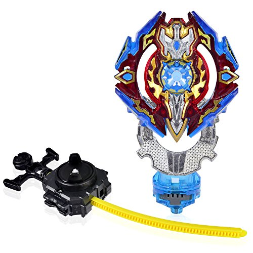 Beyblade Burst Evolution B-92 Starter Sieg Excalibur - Top Battling Blade - Burst in 3 Pieces - Comes with a Launcher - Novelty Spinning Top - State Toys by State Toys