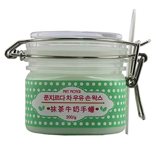 [Taiwan Import] Miss Moter Matcha Milk Green Tea Hand Wax and Foot Exfoliation Peel Mask Cream by Miss Moter