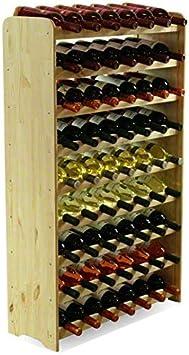 Exhibici/ón de la Botella de Vino para Cocina Vino Gris y Caqui Restaurante Refrigerador Bar 2 Piezas Estante de Botella de Vino de Pl/ástico Bebida afdg Botellero de Estilo Europeo