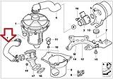 BMW e46 (03-06) Air Pump Hose Emissions Pump to