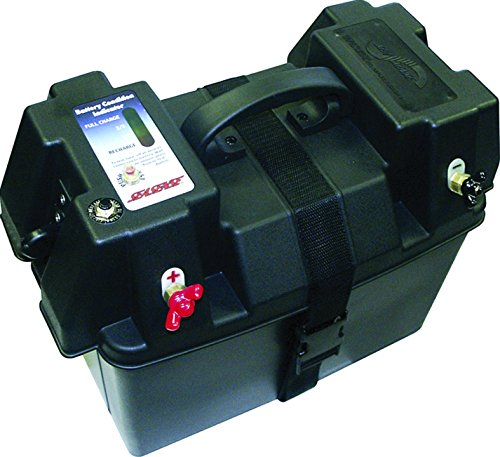 Marine Battery Box Batte 24 Holder Case Trolling Motor
