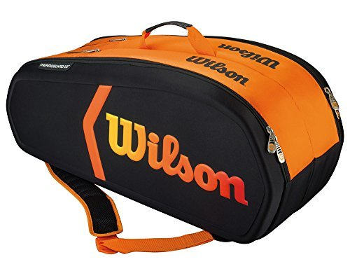 Wilson Burn Molded Racquet Bag (9-Pack) by Wilson