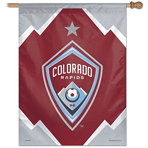 fan products of SOCCER Colorado Rapids Vertical Flag, 27