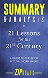 Summary & Analysis of 21 Lessons for the 21st Century