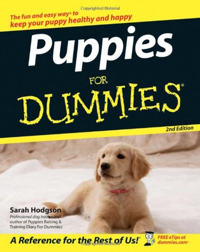 Puppies For Dummies PDF