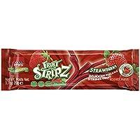 Paskez String Fruit Stripz, Peel-able, All Natural, Gluten Free, Non GMO, No Added Sugar, Vegan, Certified Kosher (Strawberry, Single)