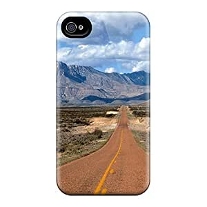 New Fashionable Favorcase EGM2065vYox Covers Cases Specially Made For Iphone 6(lone Highway To Guadalupe Mountains Texas)