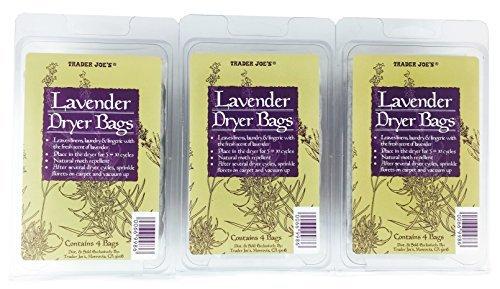 Trader Joes Lavender Dryer Bags