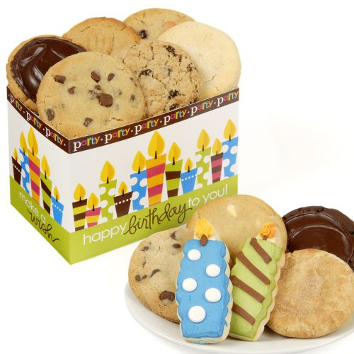 Birthday Candles Cookie Box (Birthday Gift Bouquets)