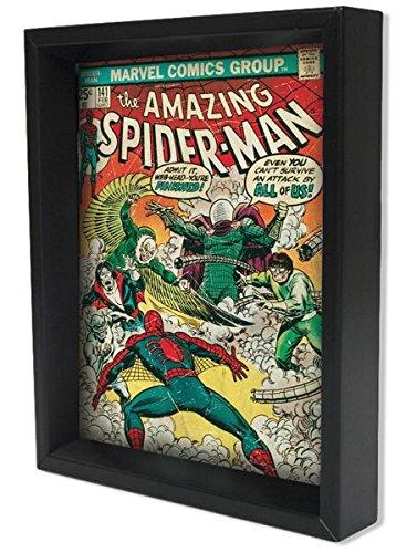 Marvel comics cover amazing spider man 141 shadow box 8x10