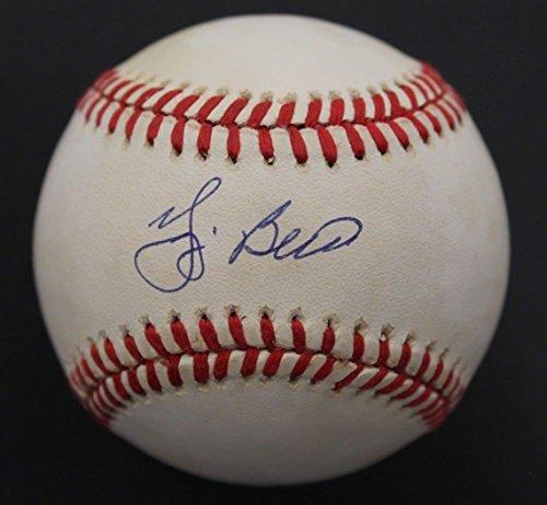 Yogi Berra NY Yankees Signed MLB OAL Autographed Baseball JSA COA C